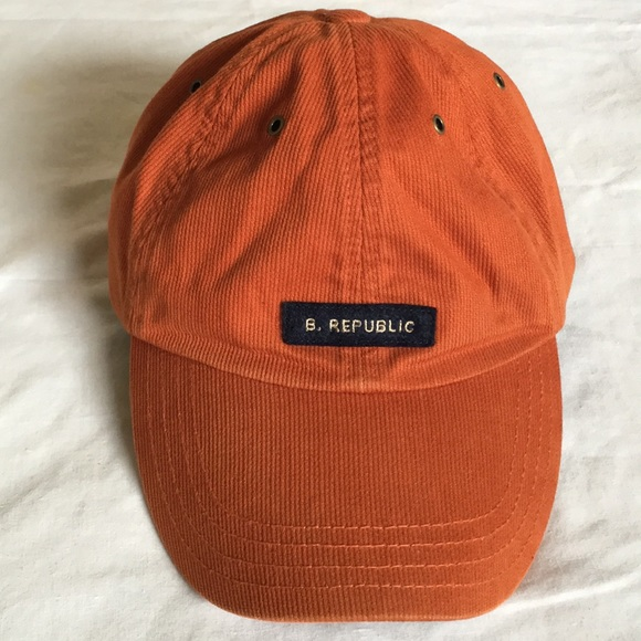 85663e79d41e4 Banana Republic Other - Banana republic dad cap hat orange corduroy